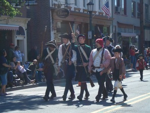 Revolutionary War Re-enactors