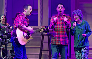 The Other Josh Cohen at Paper Mill Playhouse; From left to right: Steve Rosen and David Rossmer.