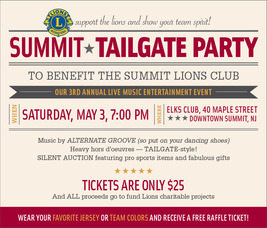 Summit Tailgate Party
