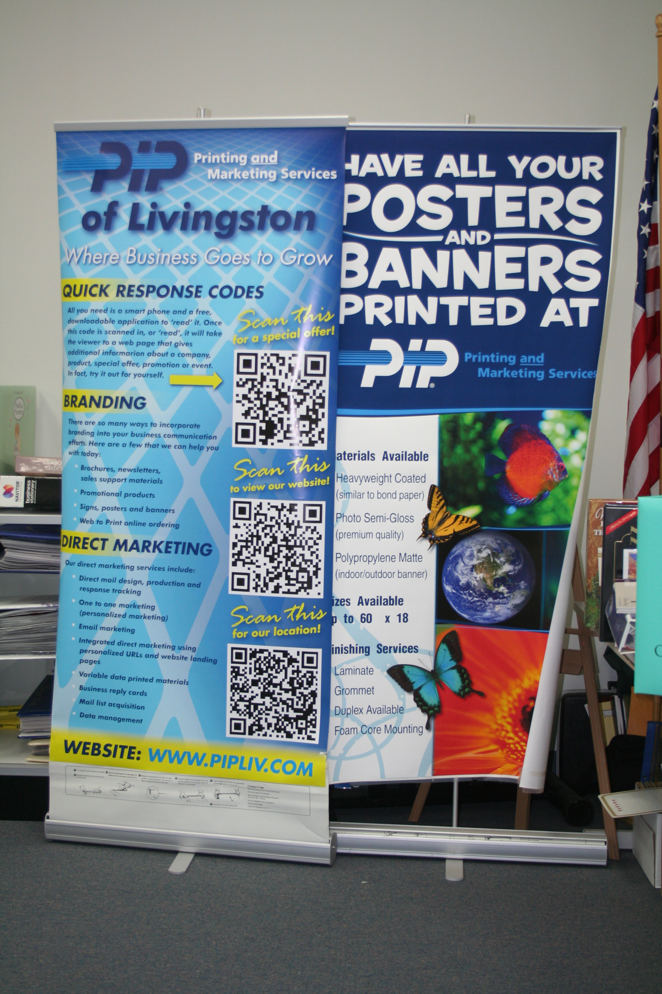 PIP Printing--Providing Traditional Copying and Printing to Mobile Marketing and Everything in Between