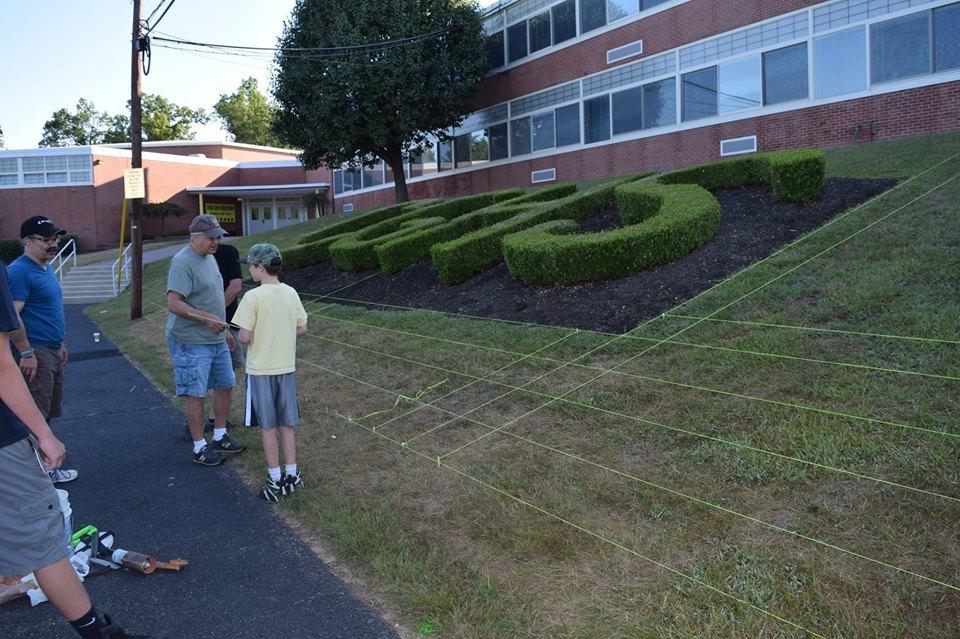 Cedar Grove High School Remembers 9/11 with Cedar Grove Waves