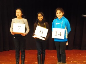 Junior Woman's Club spelling bee