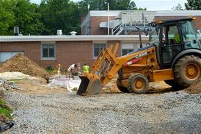 Summer Construction at Livingston Elementary Schools, photo 1