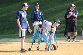 Randolph Youth Volunteers Help Make Challenger Game an Inspirational Experience For All, photo 2