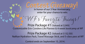 Wholistic Fitness Contest Giveaway