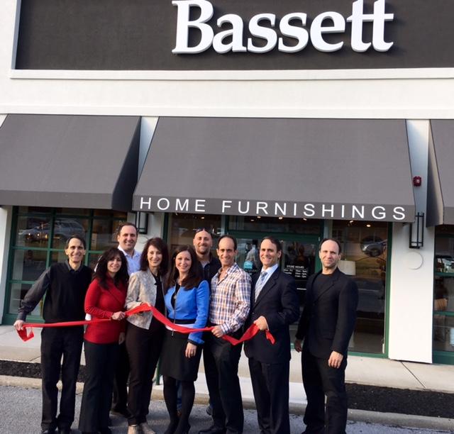 The Massood Clan At The Bassett Furniture Ribbon Cutting Ceremony. Credits:  Jackie Goldman Schatell