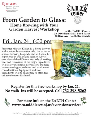 Home Brewing Workshop at the EARTH Center , photo 1