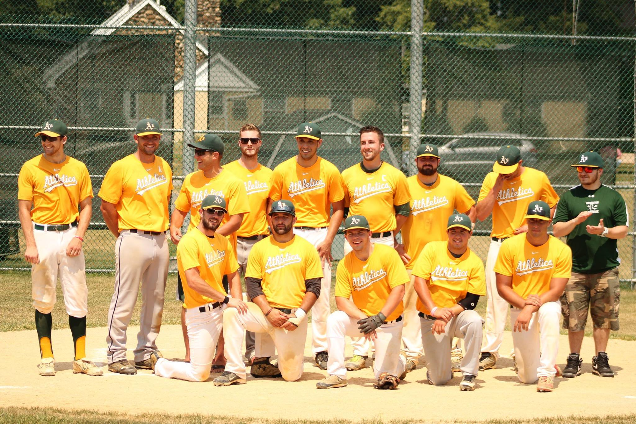 Amateur baseball jersey league north