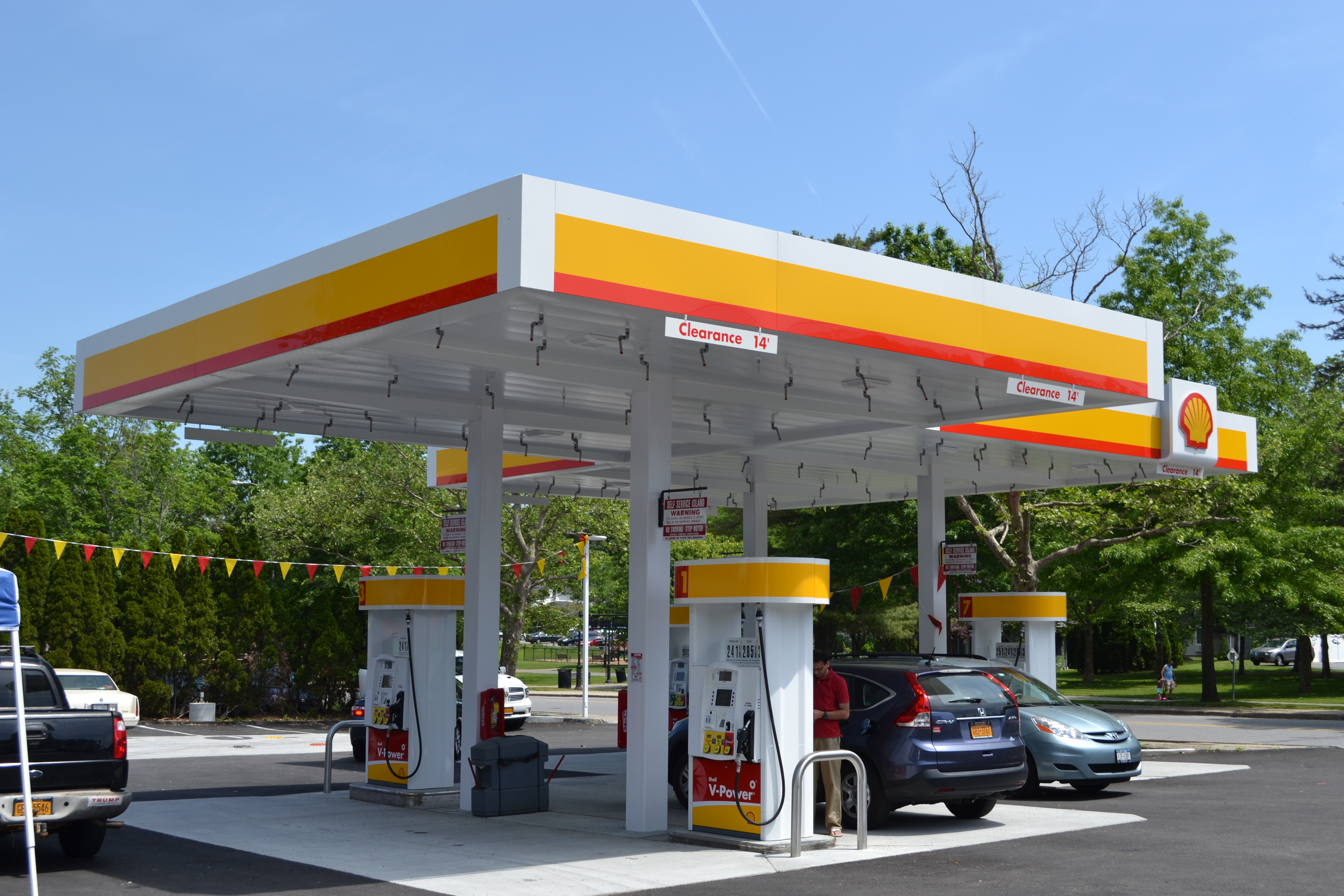 Shell Gas Station Reopens in Yorktown - Yorktown NY News ...