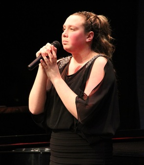 Catie Hodic, First Prize Winner of Last Year's Vocal Competition Senior Division at  Wharton Music Center