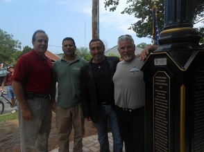 Peppertown Park Clock Connects Generations At Dedication Ceremony, photo 4
