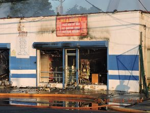 Early Morning Fire Guts Meat City, photo 1