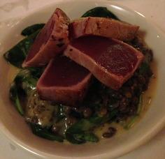 Herb Crusted Tuna