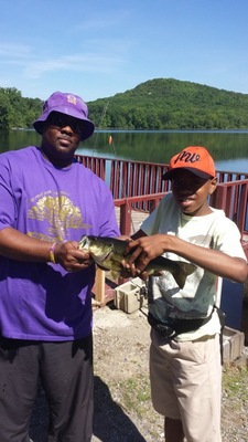 Omega Psi Phi Fraternity Host Fishing Trip for Paterson Pre-Teens , photo 4