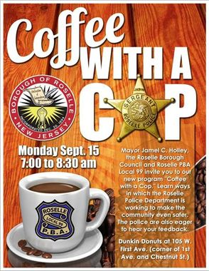 'Coffee With A Cop' Initiative in Roselle, photo 1