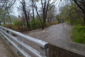 The Green Brook Close to Cresting