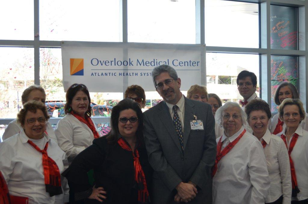 Overlook Annual Senior Sing Adds Tuneful Mirth to Hospital Lobby