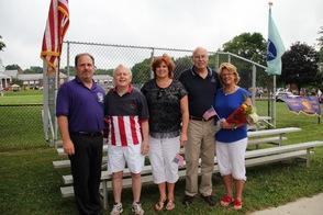 Anthony Alfanso, Jerry Murphy, Molly Whilesmith, Gil and Vanessa Gibs
