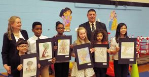 Franklin School Students' Illustrations to be Featured in Children's Book, photo 2