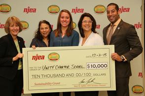 Unity Charter School awarded $10,000 sustainability grant, photo 1