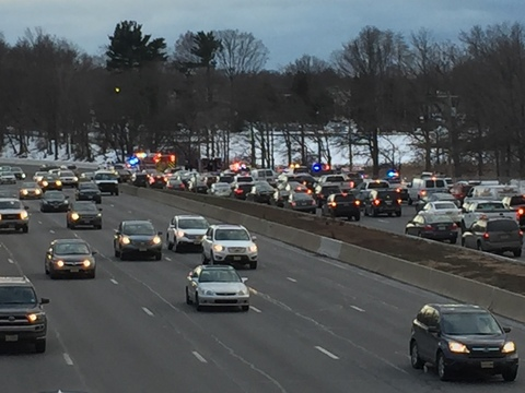 Accident On Parkway In Union Rush Hour Delays Anticipated News Tapinto