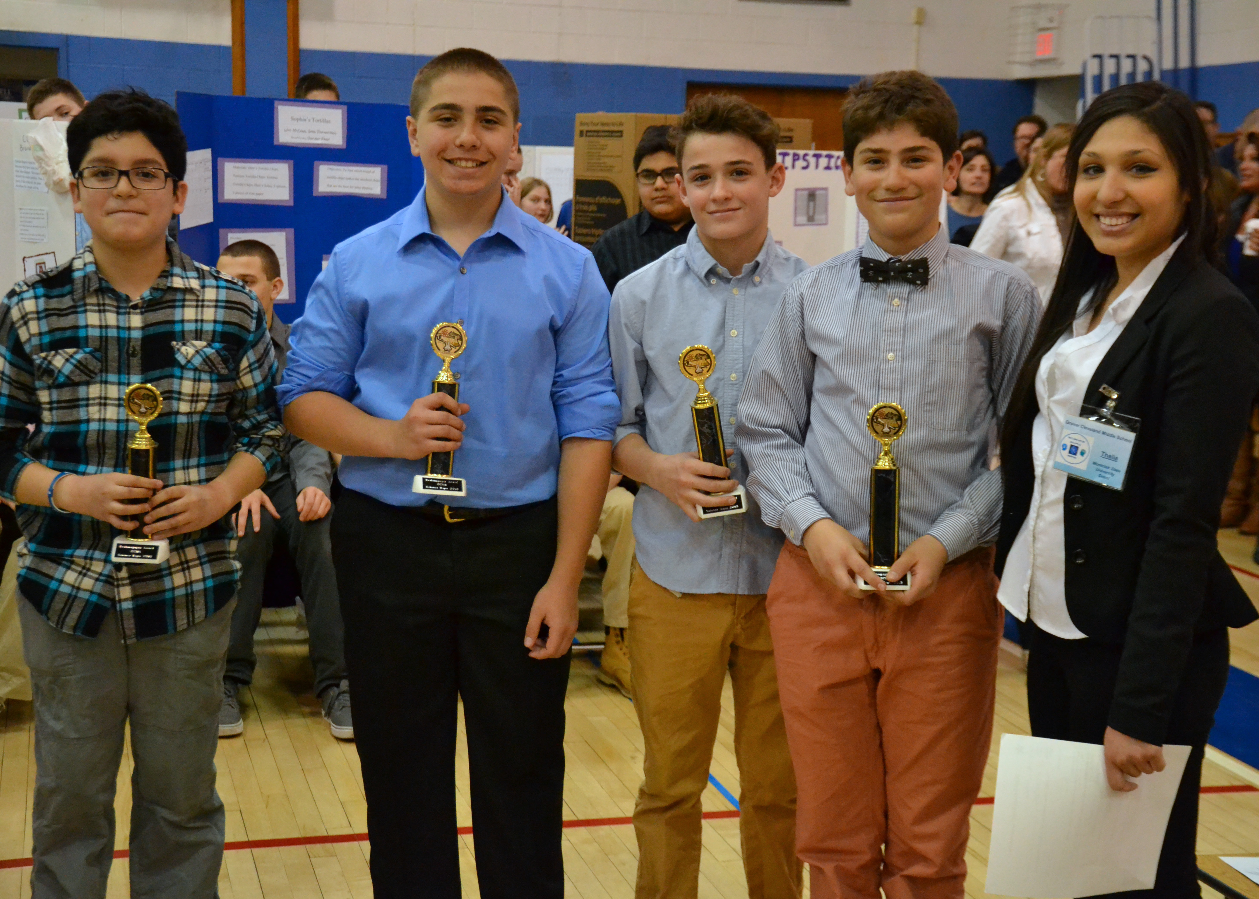 Grover Cleveland Students Win Awards at School's First Science ...