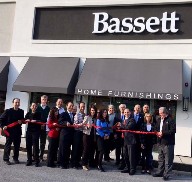 Ribbon is cut at Bassett Furniture in Livingston  Credits  Jackie  Goldman SchatellRibbon is Cut at Livingston Family Owned Bassett Furniture Store  . Livingston Furniture. Home Design Ideas