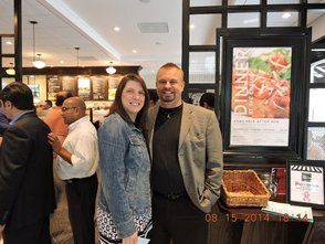 South Plainfield Residents Flock to the Corner Bakery Café , photo 6
