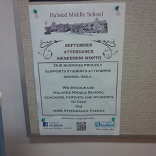 Newton Middle School Joins Attendance Awareness Campaign, photo 1