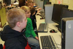 Helen Morgan Students Visit Sparta High School to Learn Coding, photo 6