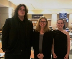 Sean Decker, Loni Bach and Emily Gaab