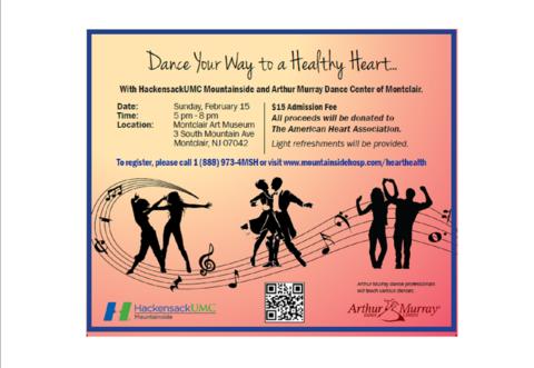 HackensackUMC Mountainside: Dance for a Cause Feb. 15 ...