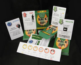 South Orange Resident Invents Card Game For People with Back Pain, photo 3