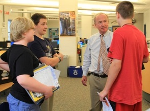 Congressman Frelinghuysen Visits Sparta Middle School Student Council, photo 8