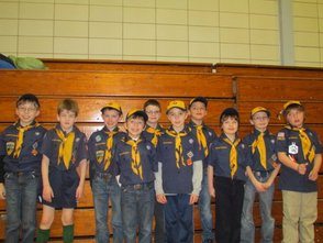 Cub Scout Pack 363 Wolf Den