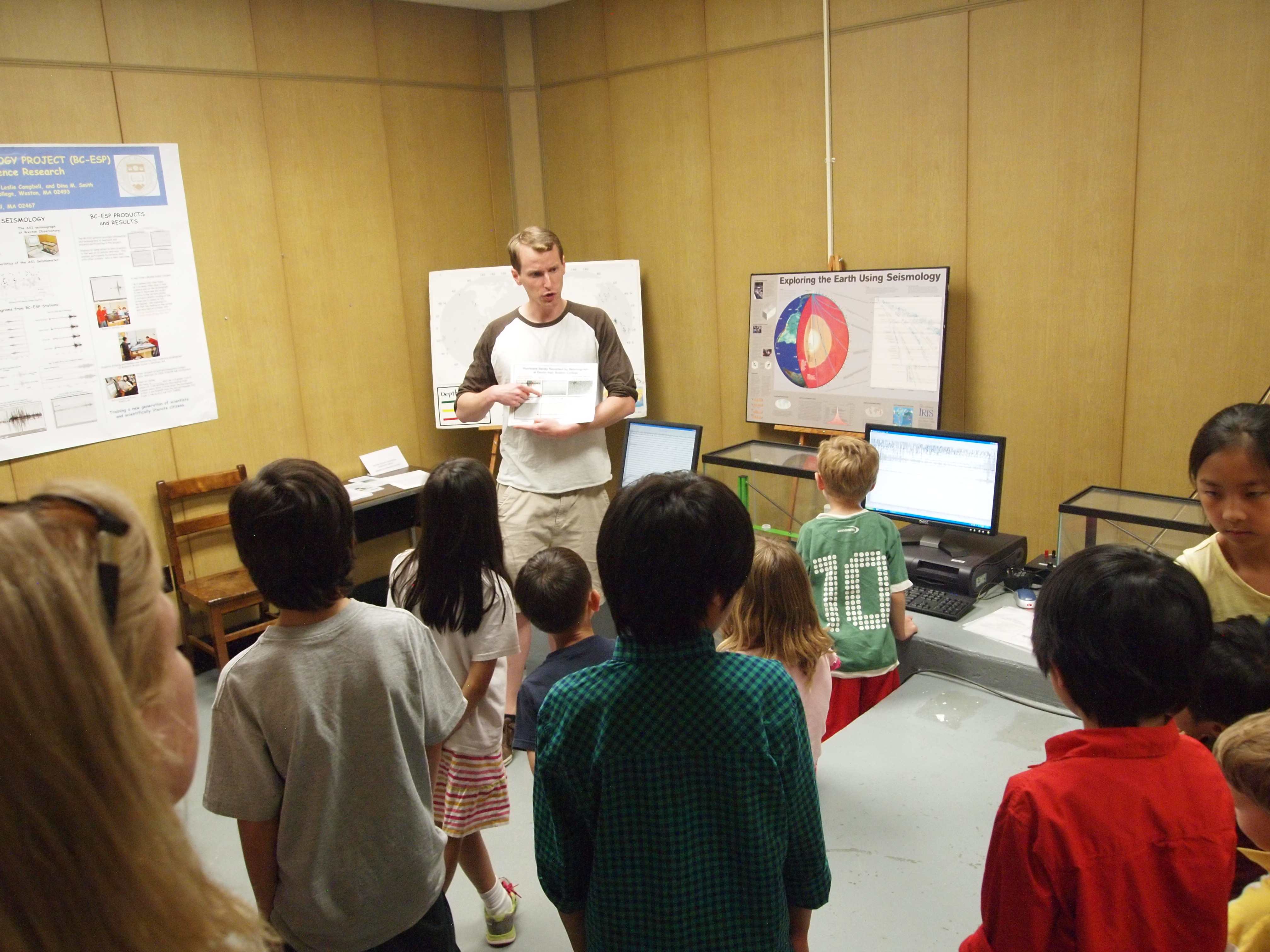 Young Local Roboticists Take an Excursion to Boston Area