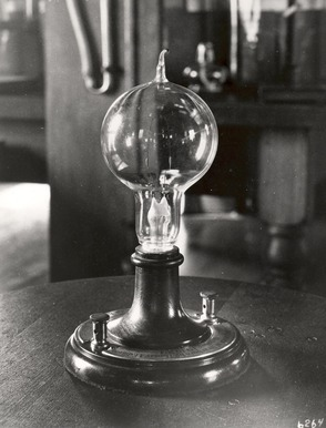 Early Light Bulb