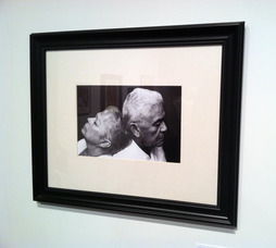 Isabella Cuan's black and white photograph of her grandparents