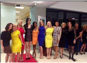 BIG Livingston Pod Leader Models at Livingston Moms Model at 'Real Housewife of NJ' Kim DePaola's B.I.G. Fashion Show