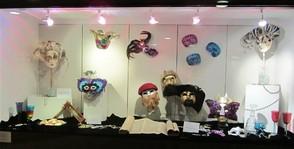 Sodowick Museum Showcase Purim Display