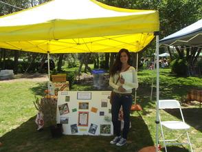 Linda of Honey Brook Organic Farm