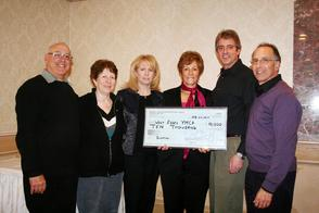 Livingston Kiwanis Club Donates $10,000 to the West Essex YMCA