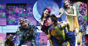 A Midsummer Night's Dream presented at  the Fanwood Memorial Library