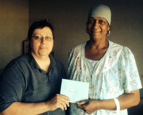 Roselle Resident Receives 'Roselle Walks for Cancer' Grant, photo 1