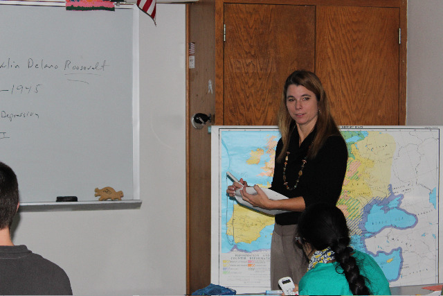 SEF Funds Spark System for Summit H.S. Social Studies Department