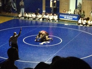 Ridge clinches the match for the Raiders