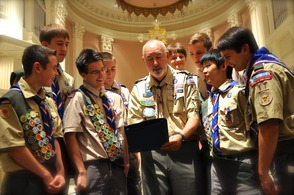 Troop 17 Awards 8 Scouts their Eagles