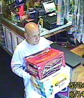 Bald Beer Thief Swipes Ump's Credit Card in Hatfield: Police, photo 1