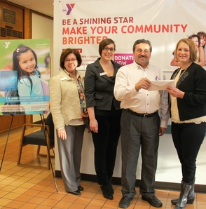 Stop and Shop Donates Almost $5,000 To Madison Area YMCA's Annual Campaign