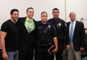 South Plainfield Swears in Three New Police Officers, photo 1